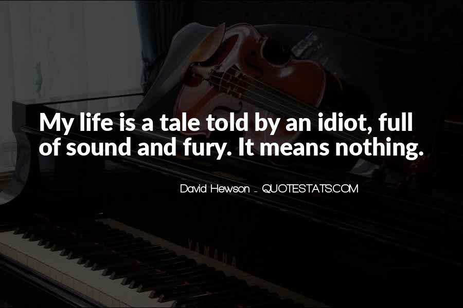 David Hewson Quotes #1329480