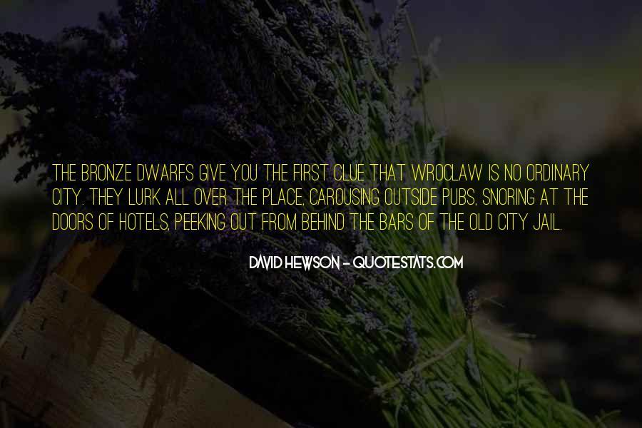 David Hewson Quotes #1345353