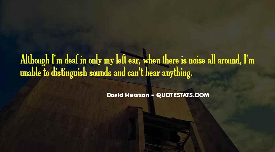 David Hewson Quotes #157423