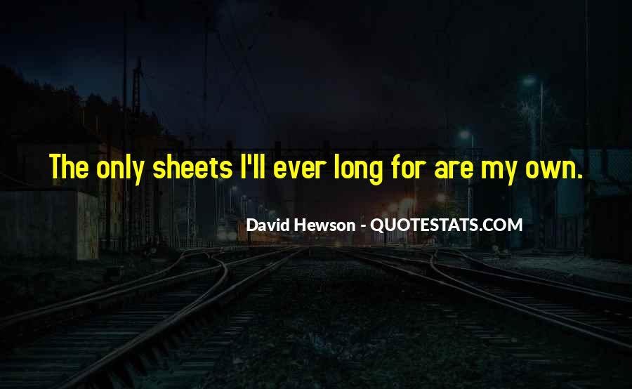 David Hewson Quotes #239035