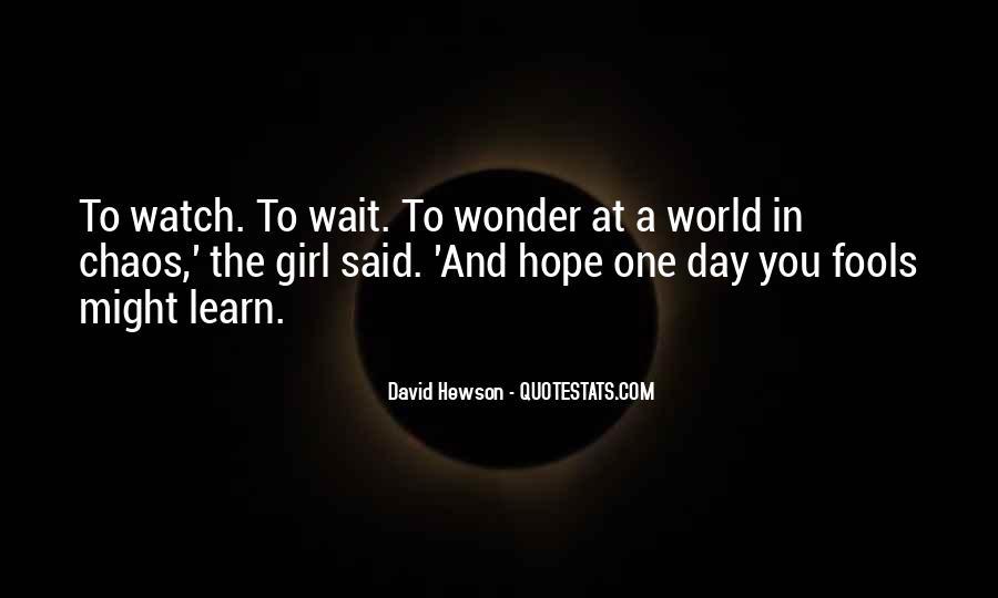 David Hewson Quotes #564580