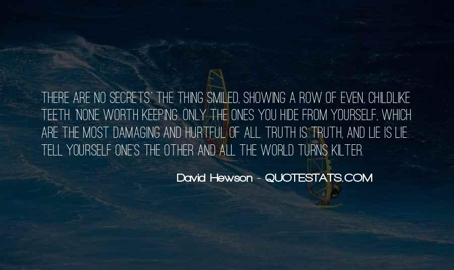 David Hewson Quotes #855528