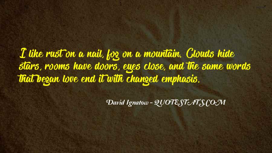 David Ignatow Quotes #250083