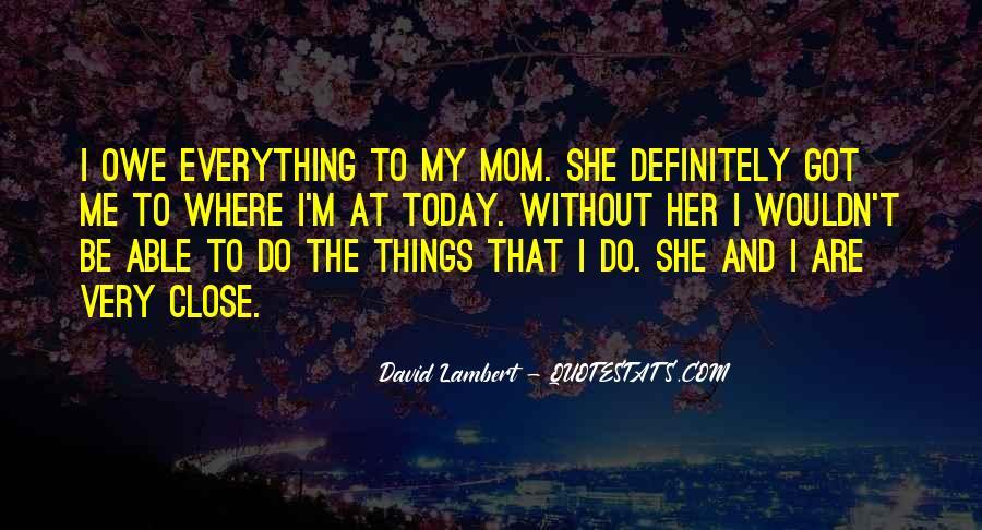 David Lambert Quotes #1175168