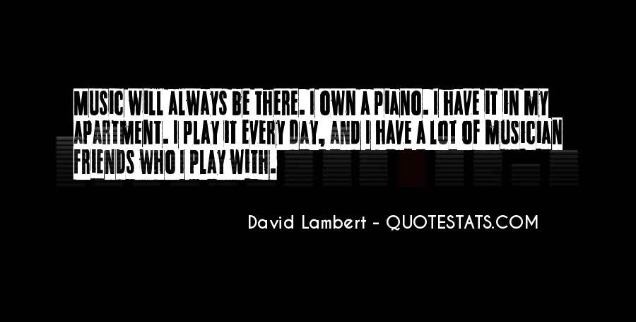 David Lambert Quotes #1390107