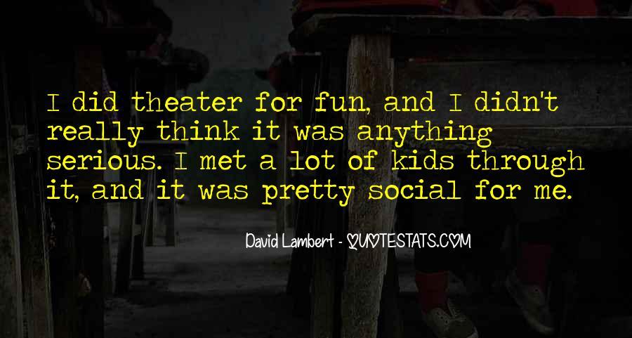 David Lambert Quotes #1865786