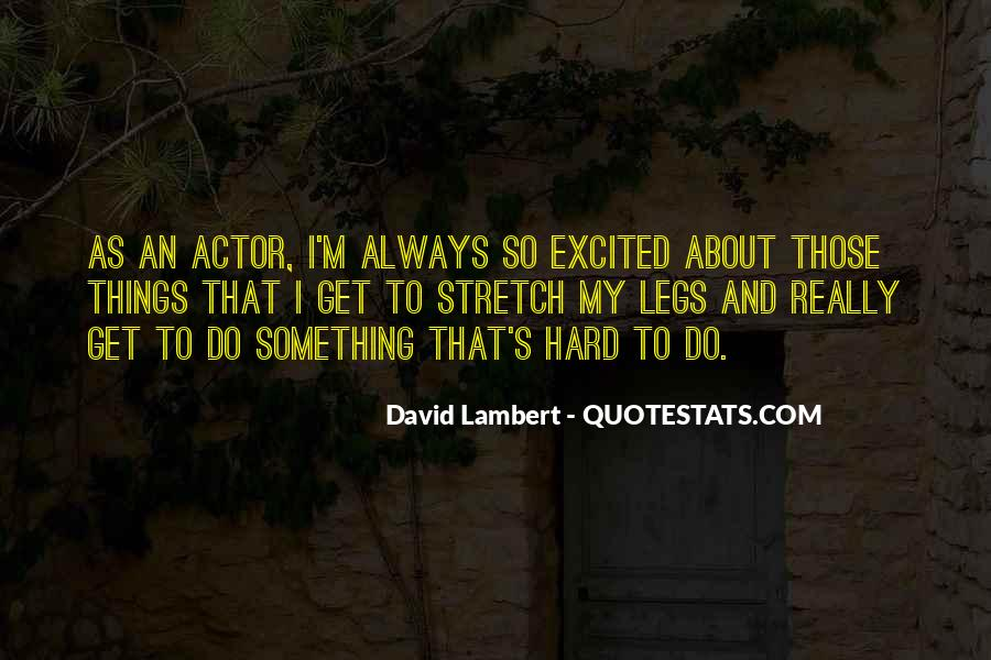 David Lambert Quotes #238930