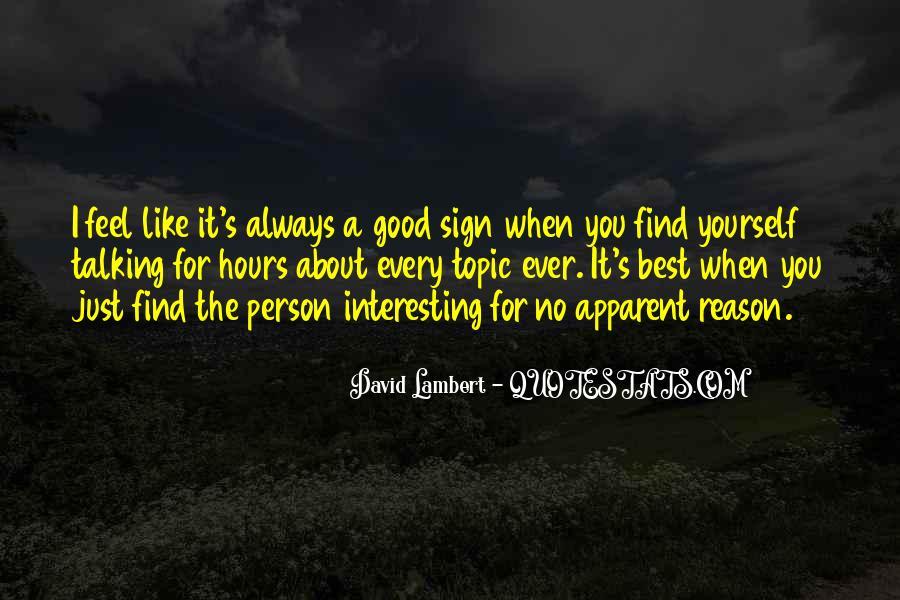 David Lambert Quotes #417814