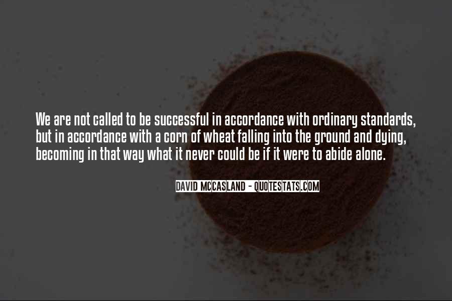David Mccasland Quotes #1160365