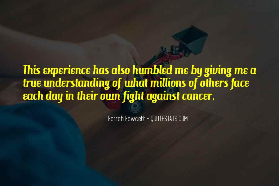 Quotes About Cancer Fight #1026954