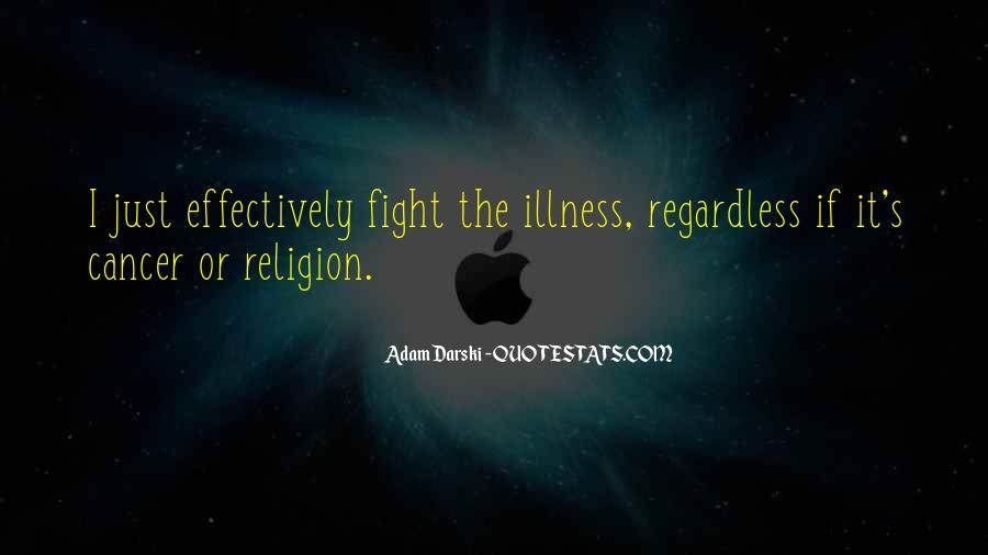 Quotes About Cancer Fight #1858138