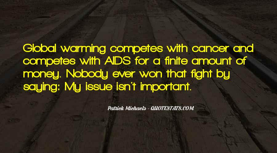 Quotes About Cancer Fight #834950