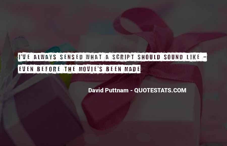 David Puttnam Quotes #881375