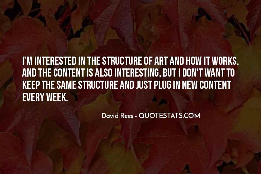 David Rees Quotes #1328832