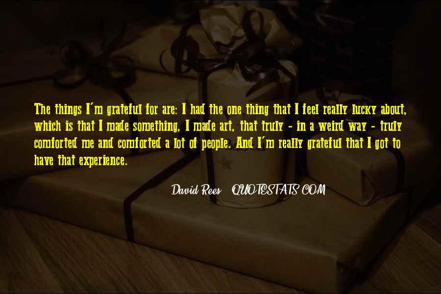 David Rees Quotes #1468105