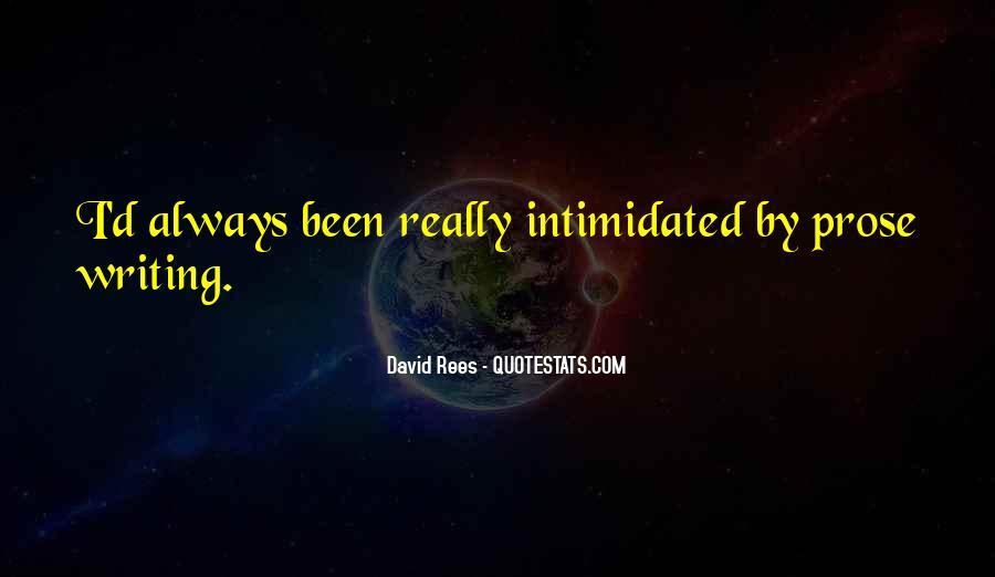 David Rees Quotes #255087