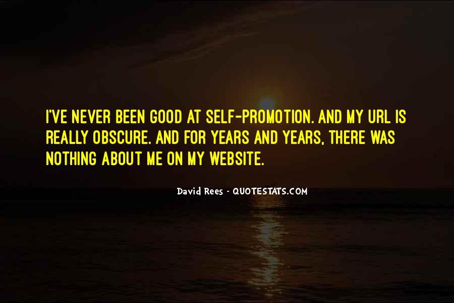 David Rees Quotes #964411
