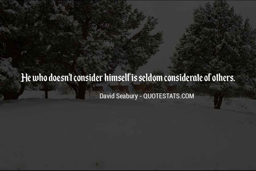 David Seabury Quotes #600979