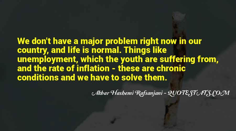 Quotes About Unemployment Problem #1193079