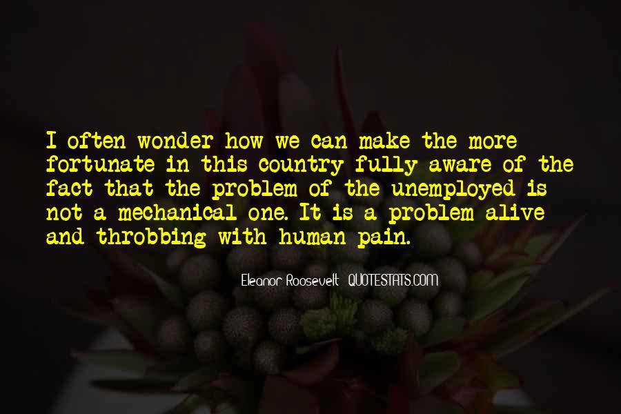 Quotes About Unemployment Problem #472115