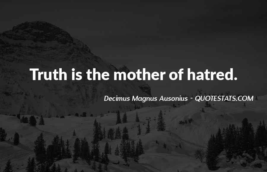 Decimus Magnus Ausonius Quotes #413131