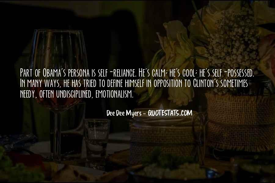 Dee Dee Myers Quotes #188628