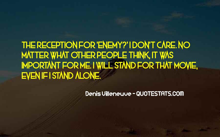 Denis Villeneuve Quotes #1333301
