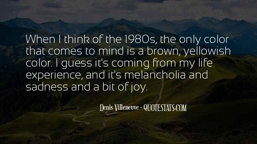 Denis Villeneuve Quotes #411192