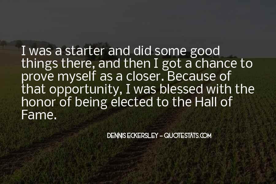 Dennis Eckersley Quotes #1298146