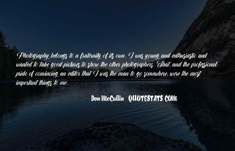 Don Mccullin Quotes #1283302