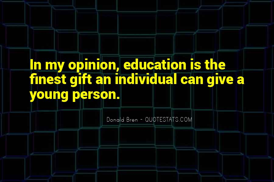 Donald Bren Quotes #1688762