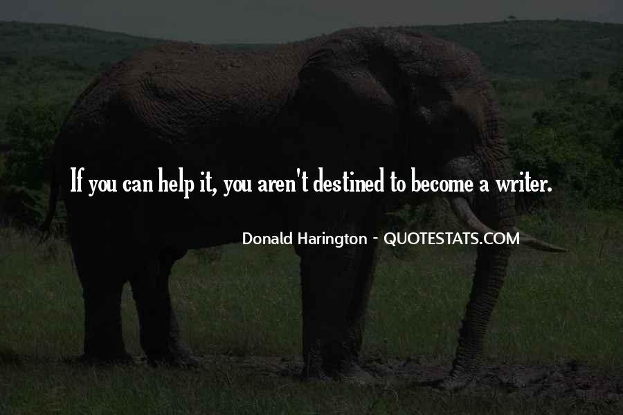 Donald Harington Quotes #272095