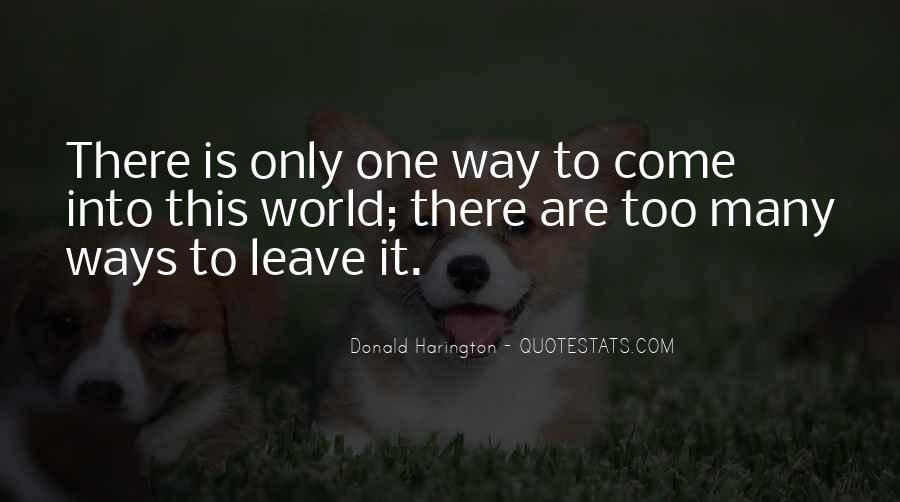 Donald Harington Quotes #940057
