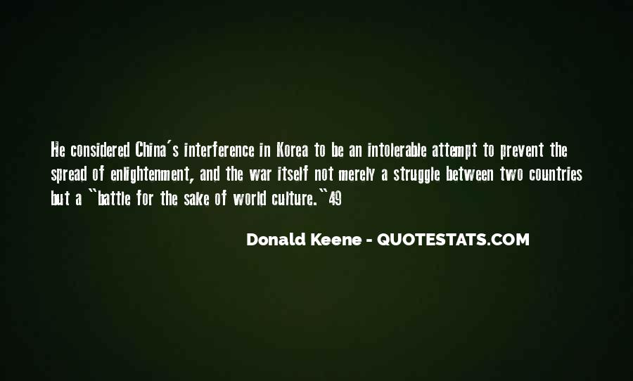 Donald Keene Quotes #1577078