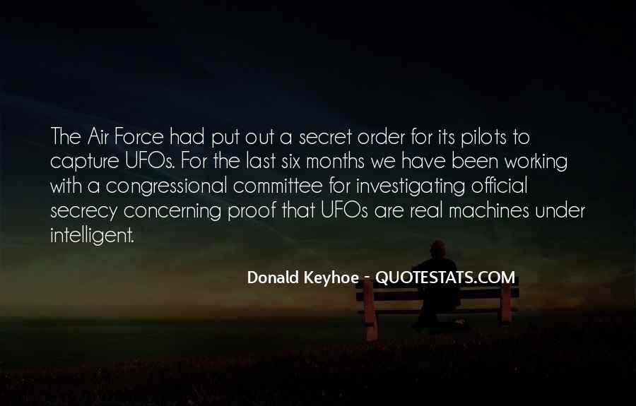 Donald Keyhoe Quotes #1741686