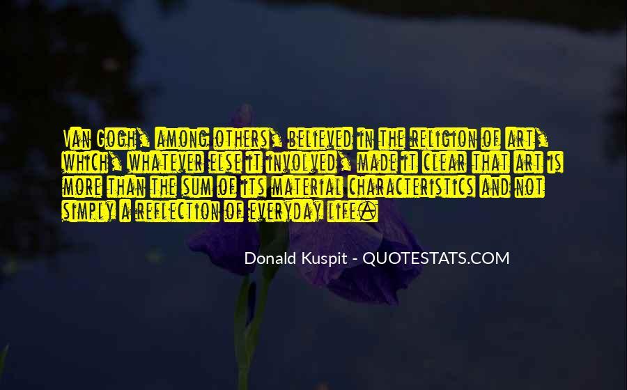 Donald Kuspit Quotes #1613295