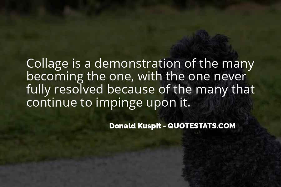 Donald Kuspit Quotes #969648