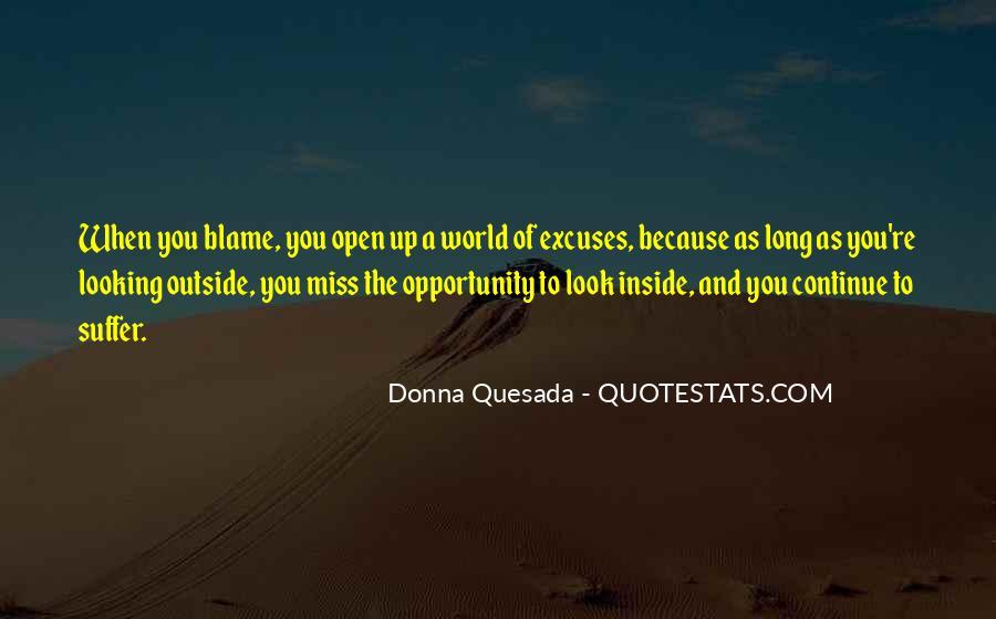 Donna Quesada Quotes #1548004