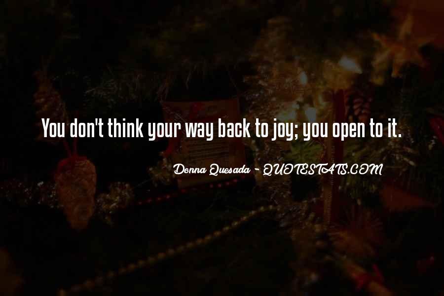 Donna Quesada Quotes #452319