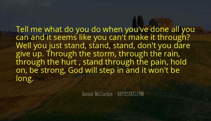 Donnie Mcclurkin Quotes #1810013