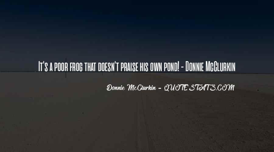 Donnie Mcclurkin Quotes #324696