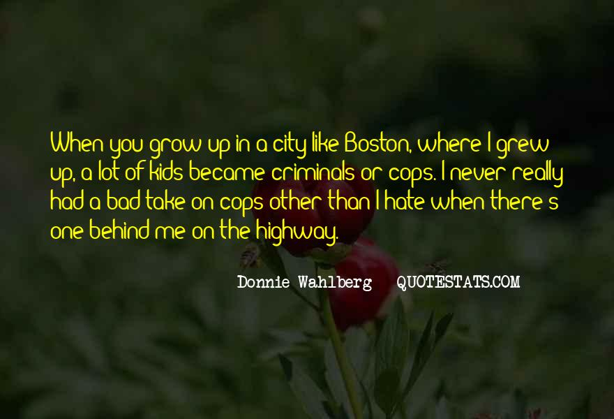 Donnie Wahlberg Quotes #1247526