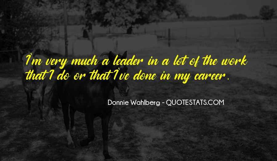 Donnie Wahlberg Quotes #1662286