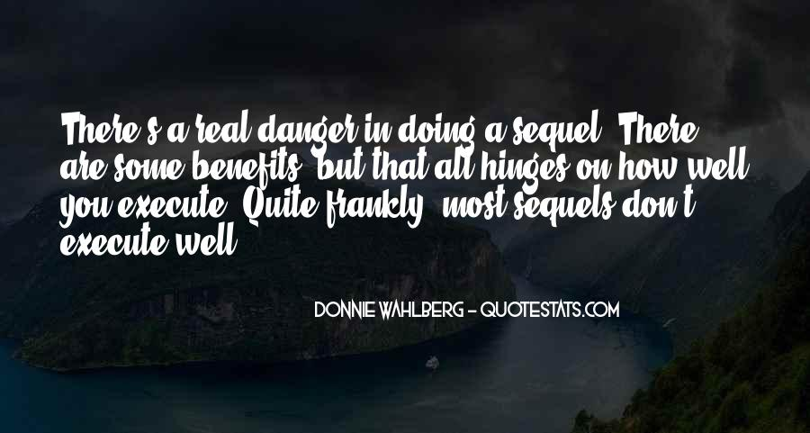 Donnie Wahlberg Quotes #17835