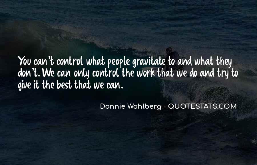 Donnie Wahlberg Quotes #86613