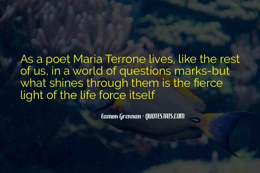 Eamon Grennan Quotes #1527211