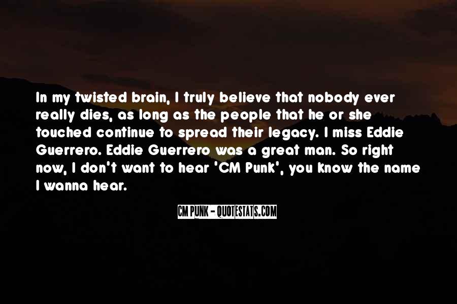 Eddie Guerrero Quotes #306782
