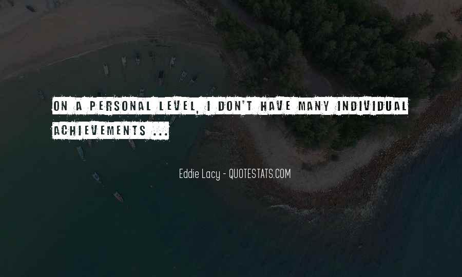 Eddie Lacy Quotes #203403