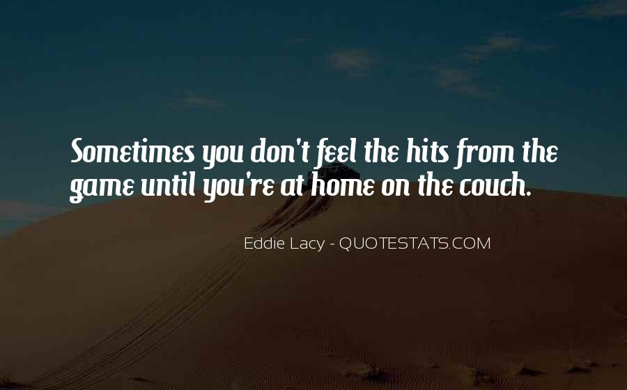 Eddie Lacy Quotes #275757