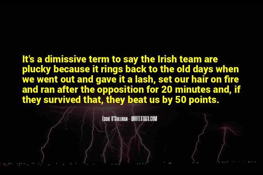 Eddie O'sullivan Quotes #156869